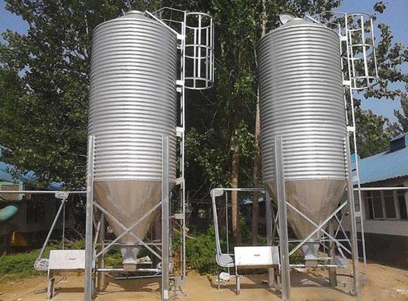feed storage silos