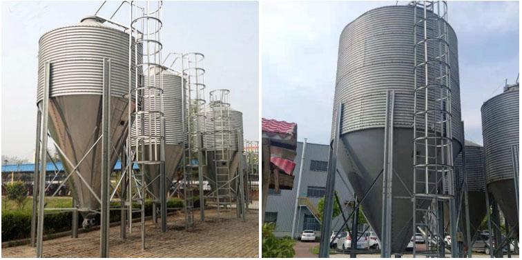 china steel silos pig feeding