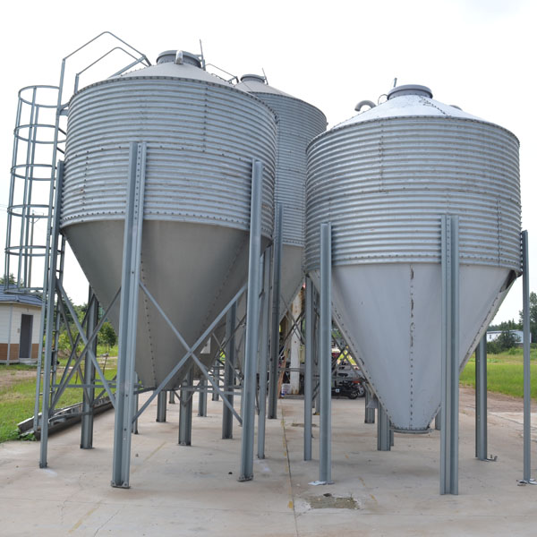 pig feeding steel silos china
