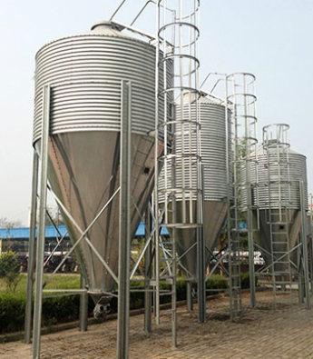 Steel Feeding Silo of Pig Feeding Systems Manufacturers