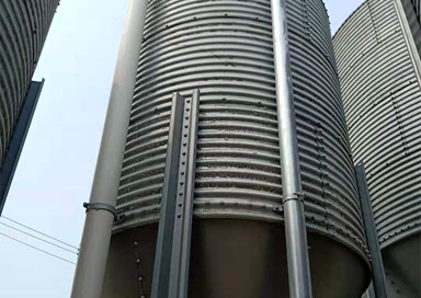 stainless steel silo manufacture