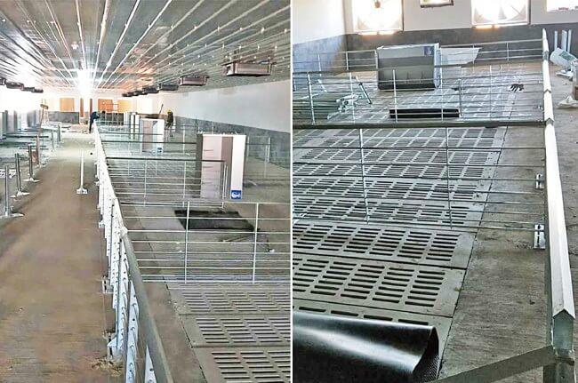 cast iron pig flooring china