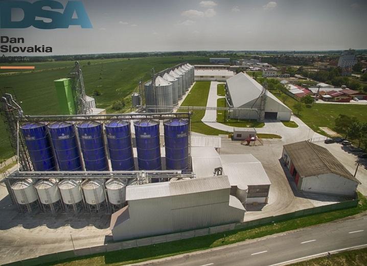 pig steel silo in slovakia